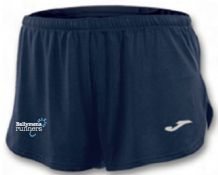 Ballymena Running Club Joma Running Shorts Navy Youth 2019